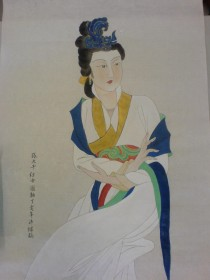 06_07_semster 2_VA1040_chinese painting_section2_06014089_wong pui leung Prian_工筆仕女
