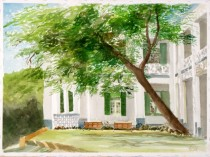 Watercolor - conserve my campus